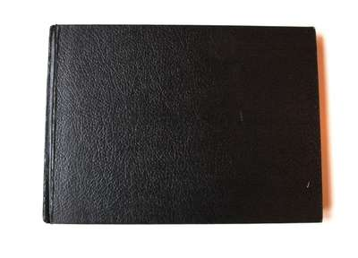 Large Black Sketchbook Filled by Teen Lovers