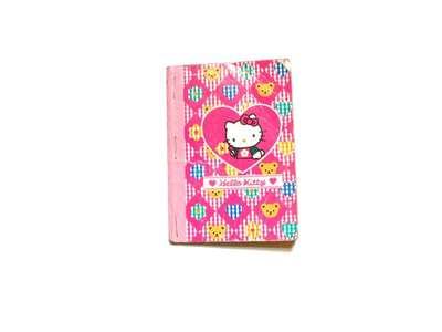 Little Shared Notebook (Hello Kitty Brand)