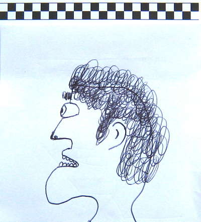 Profile Drawing of One Man's Father